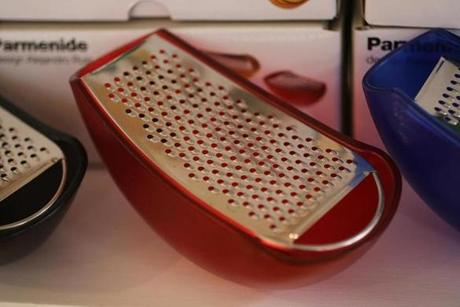 Cheese graters at Local Root.